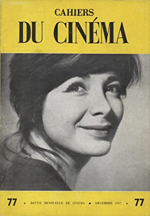 Cahiers du Cinema 77 (Decembre 1957) - includes an excerpt from original French edition of ...