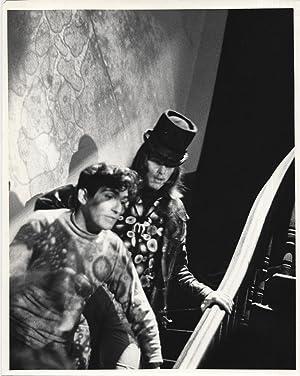 Photograph of Bobby Beausoleil on the set: Kessler, Chester (photographer),