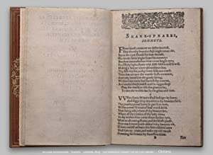 Sonnets (facsimile of 1609 edition on CD-ROM): Shakespeare, William (introduction