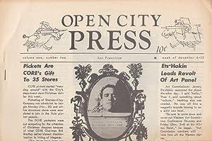 Open City Press, Volume 1, Number 2 (week of December 6-12, 1964): Bryan, John (editor), Neal ...