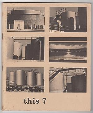 This 7 (Writing; Spring 1976): Watten, Barrett (ed.), Robert Grenier, Bernadette Mayer, Tom Raworth...