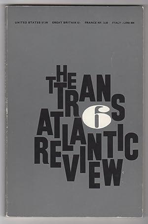 Transatlantic Review 6 (Spring 1961): McGrindle, J. F. (ed.), William Faulkner (on Albert Camus), E...