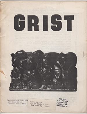 Grist 8 (1966): Fowler, John, George Kimball, and Charles Plymell (eds.), d. a. levy, Allen ...