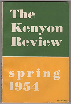 """Kenyon Review, Volume XVI, Number 2 (Spring 1954; original appearance of """"A Circle in the Fire..."""