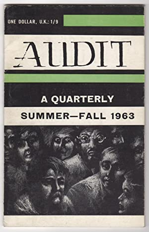 Audit, Volume 3, Numbers 2 & 3 (Summer-Fall 1963) - includes an interview with Gregory Corso: ...