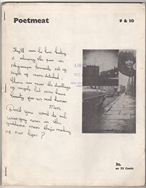 Poetmeat 9 and 10 (Summer 1965): Cunliffe, Dave, and