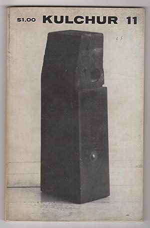 Kulchur 11 (Volume 3, Number 11, Autumn: Hornick, Lita (ed.),