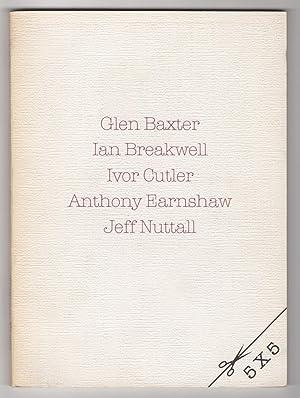 5 X 5 : Glen Baxter, Ian: Benveniste, Asa (ed.),