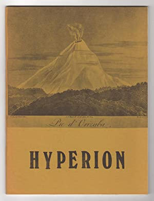 Hyperion 8 (Volume 3, Number 1, Fall: Foreman, Paul (editor),
