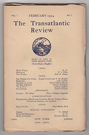 The Transatlantic Review, Volume 1, Number 2 (February 1924)
