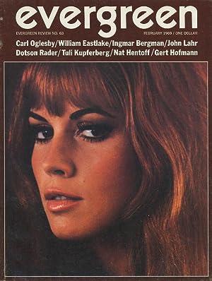 Evergreen Review 63 (February 1969): Rossett, Barney (ed.),