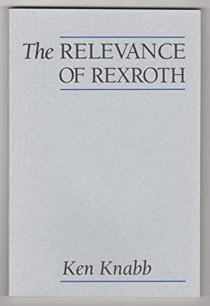 kenneth rexroth essays Essays and criticism on kenneth rexroth - rexroth, kenneth.