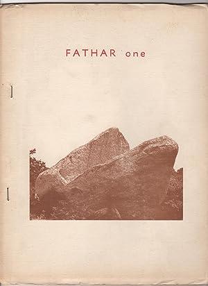 Fathar One (1; June 1970): McNaughton, Duncan (ed.),