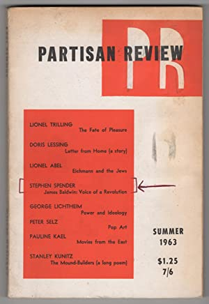 Partisan Review, Volume 30, Number 3 (XXX;: Phillips, William, and
