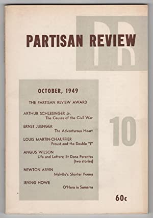 Partisan Review, Volume 16, Number 10 (XVI; October 1949) - contains The Adventurous Heart by Ern...