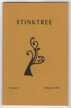Stinktree 1 (Number 1, February 1972) - includes an ALS from editor Thomas Johnson