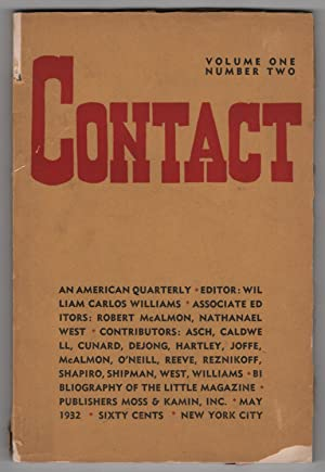 Contact, Volume 1, Number 2 (May 1932)