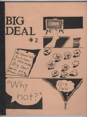 Big Deal 2 (Spring 1974) - includes a signed 1974 cover letter from editor Barbara Baracks to Jim...