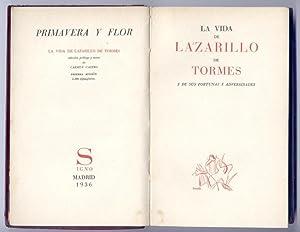La Vida de Lazarillo de Tormes y de sus fortunas y adversidades. Edición, prólogo y ...