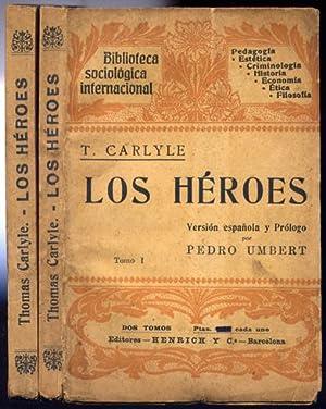 Los Héroes. El culto de los héroes: CARLYLE, Thomas.