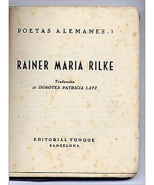 Poesía. Traducción de Dorotea Patricia Latz.: RILKE, Rainer Maria (1875-1926).