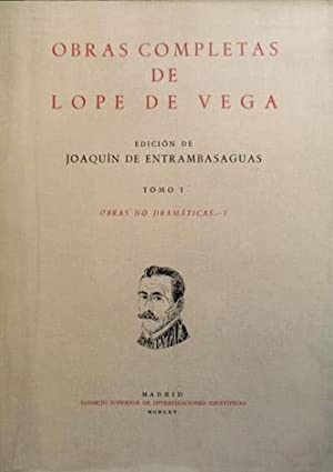 Obras completas de Lope de Vega. Tomo: VEGA CARPIO, Lope