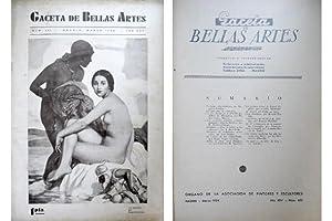 Gaceta de Bellas Artes. Organo de la: VV.AA.