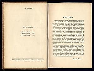 Historia de la Pedagogía. Traducción de Manuel Sánchez Sarto.: MESSER, August.