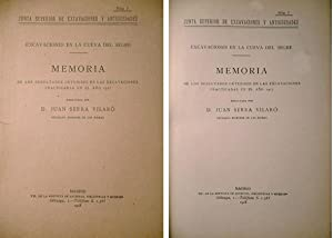 Excavaciones en la Cueva del Segre (Lérida). Memoria de los resultados obtenidos en las ...