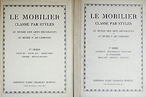 Le Mobilier classé par Styles au Musée: N/A.