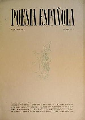 Poesía Española. Revista Literaria. Director José García: VV.AA.