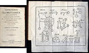 Institutionum Elementarium Philosophiae ad usum studiosae juventutis. Editio secunda hispana.: ...