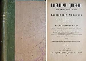 Estenotipia Universal. Método sencillo, práctico y razonado de Taquigrafía Mec...