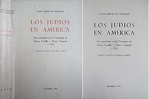 Los Judíos en América. Sus actividades en: GARCÍA DE PROODIAN,