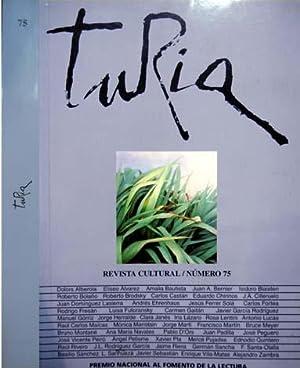 Turia. Revista cultural. Director: Raul Carlos Maícas: BOLAÑO, Roberto].