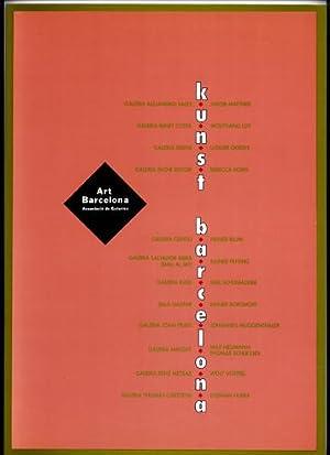 Programa de Exposiciones de Artistas Alemanes en: KUNST BARCELONA.