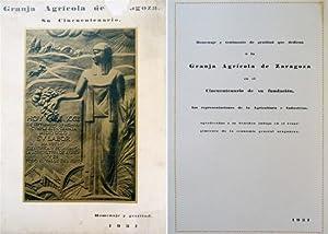 La Granja Agrícola de Zaragoza. Su Cincuentenario.: VV.AA.