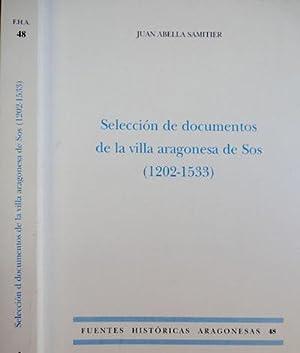 Selección de documentos de la villa aragonesa: ABELLA SAMITIER, Juan.
