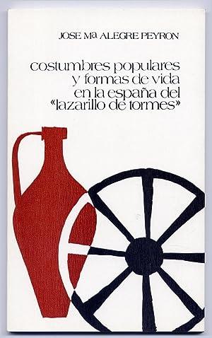 Costumbres populares y formas de vida en: ALEGRE PEYRÓN, José