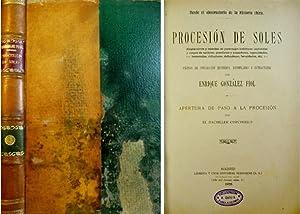 Procesión de Soles. Desde el observatorio de: GONZÁLEZ FIOL, Enrique.