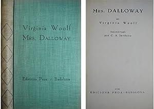 Mrs. Dalloway. Traducció de l'anglés per Cesar: WOOLF, Virginia.