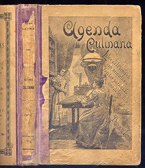 Agenda Culinaria para 1901. Libro de la: N/A.