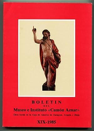 Boletín del Museo e Instituto Camón Aznar.: VV.AA.