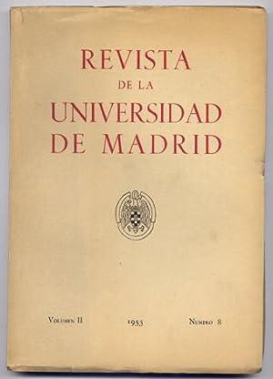 Revista de la Universidad de Madrid. Volúmen: VV.AA.