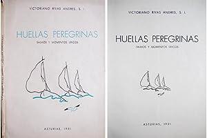 Huellas peregrinas. Salmos y momentos líricos. Con: RIVAS ANDRES, Victoriano.