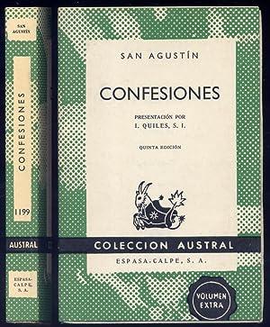 Confesiones. Presentación de Ismael Quiles. Traducción de: AGUSTÍN DE HIPONA,