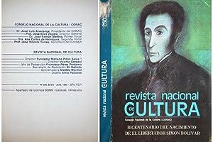 Revista Nacional de Cultura. Número 250, Enero-Julio: VV.AA.