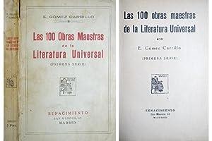 Las 100 obras maestras de la Literatura: GÓMEZ CARRILLO, Enrique.