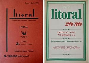 Revista de la Poesía y el Pensamiento.: LITORAL.