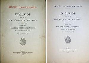 Miguel Servet y la Geografía del Renacimiento.: BULLÓN Y FERNÁNDEZ,